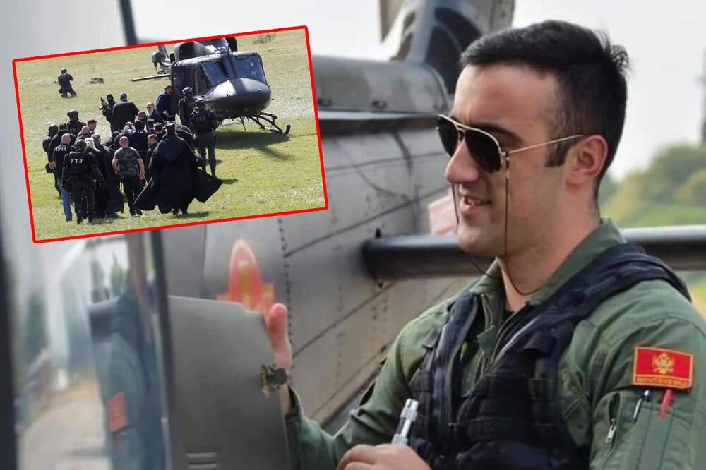 Helikopterom ka Cetinju pilotirao Bjelopoljac